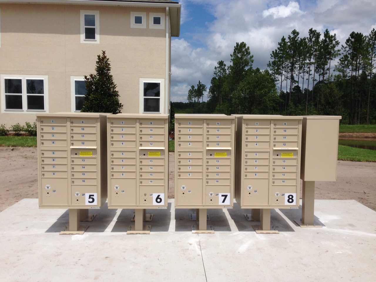 Centralized Delivery Cluster Mailboxes (CBU)