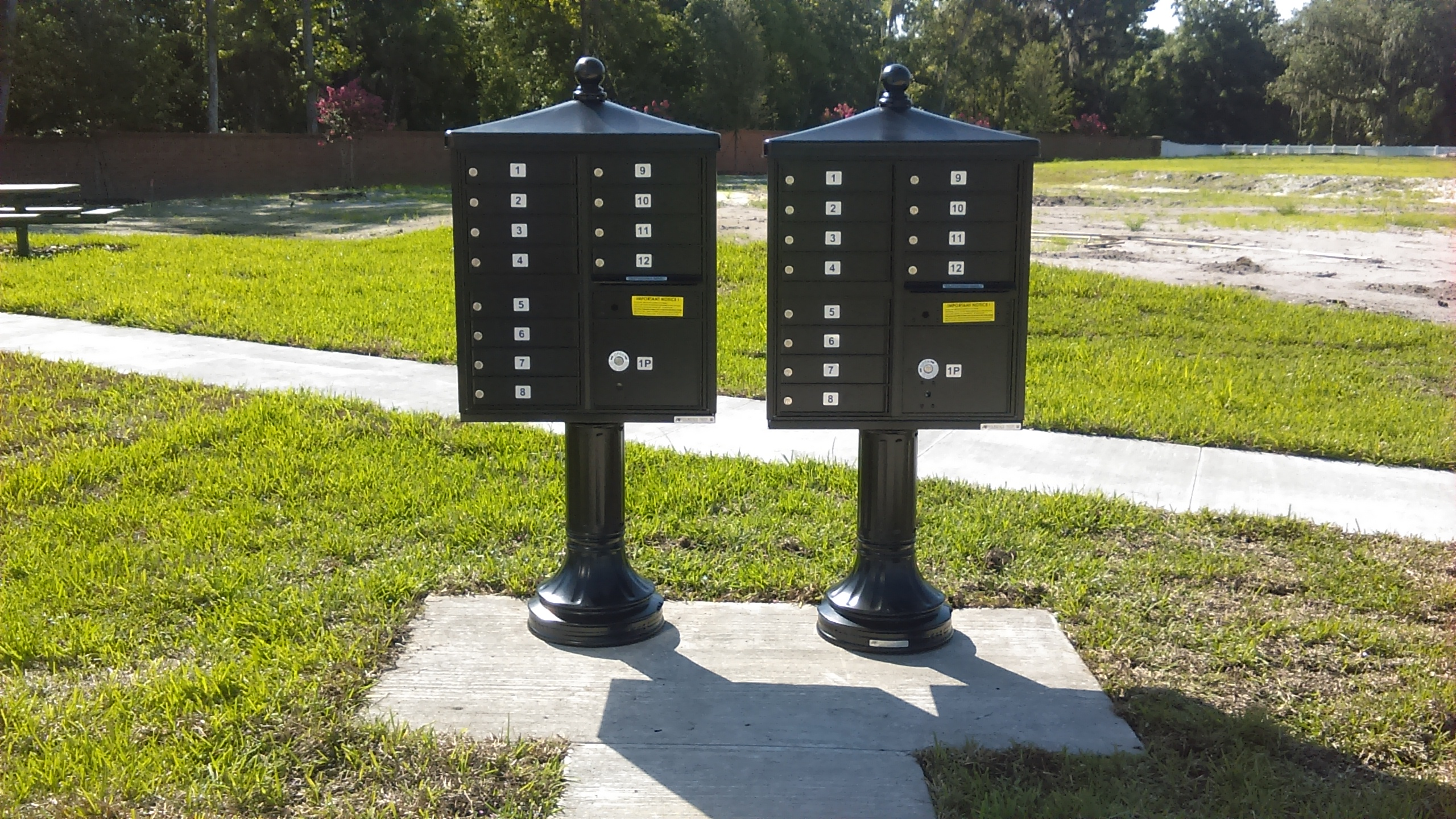 Decorative Centralized Delivery Cluster Mailbox (CBU)
